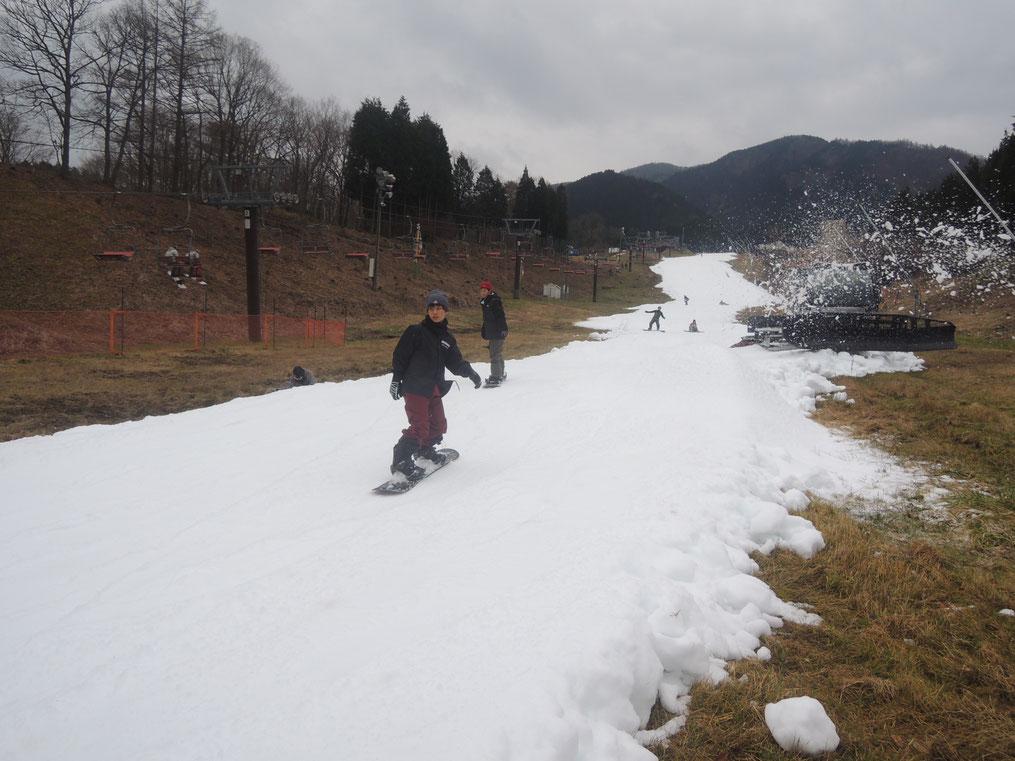 いぶきの里スキー場、2019-2020シーズン、ようやくオープン!