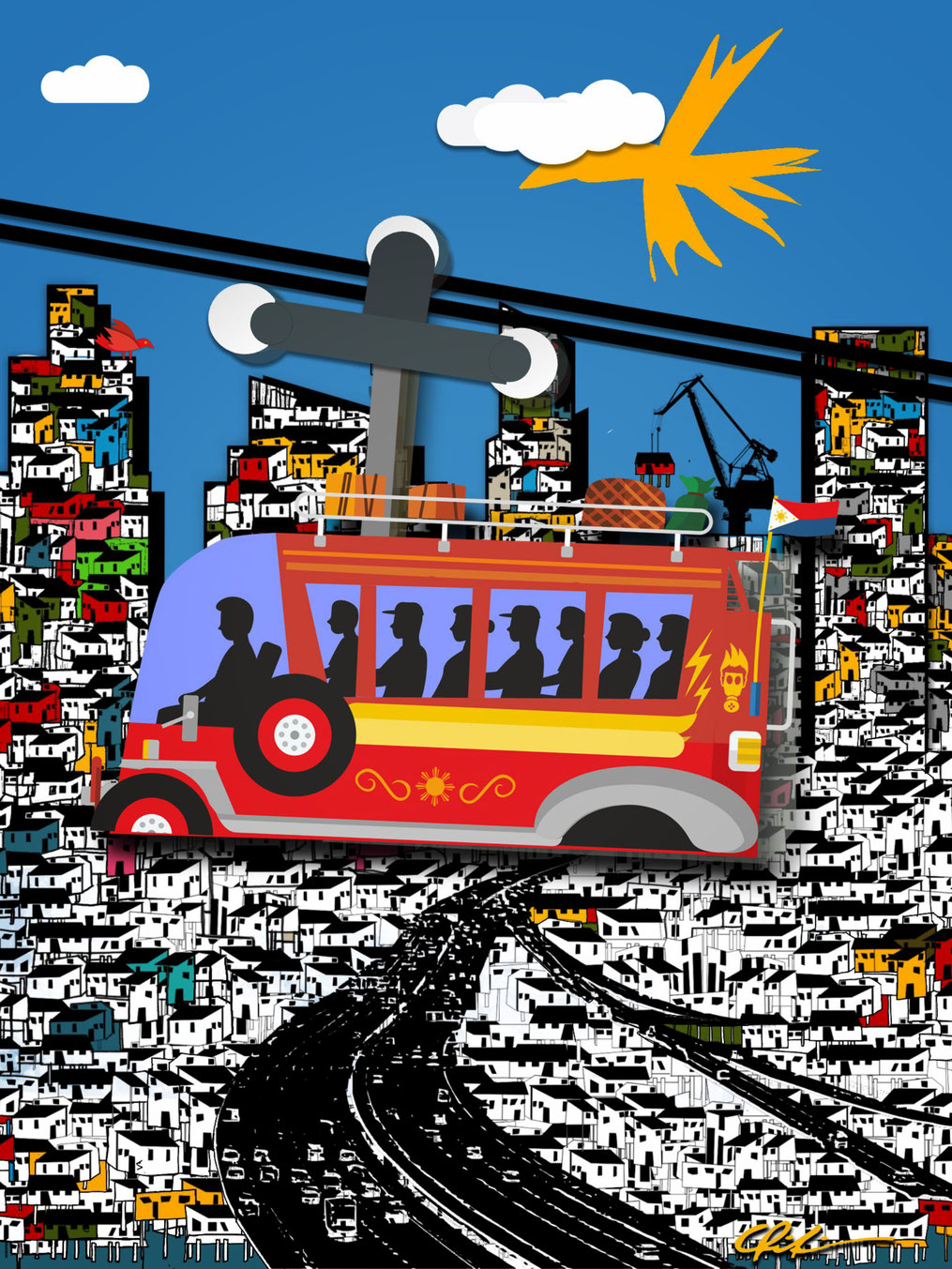 AIRjeepneys - © Chili Gallei - a future for Manila