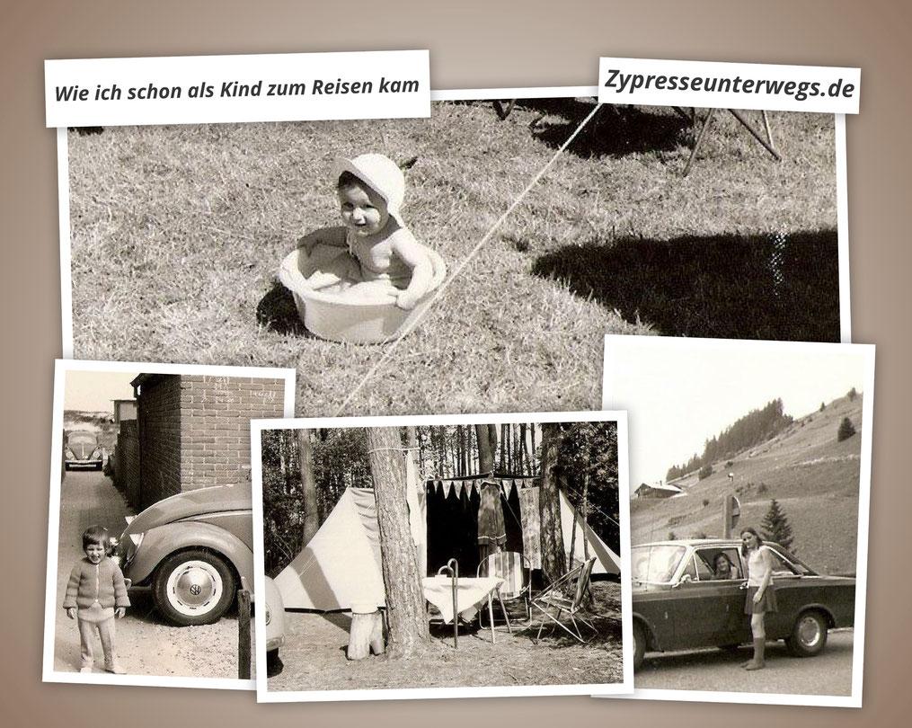 Collage Kindheitsferien