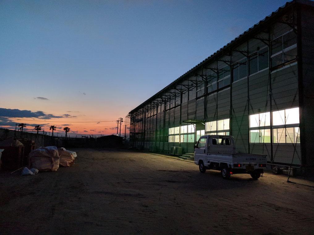 プレハブ仮設建物の写真