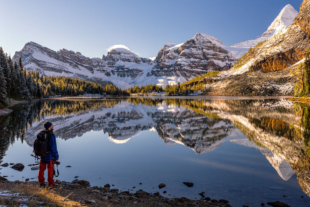 Sunburst lake, Mount Assiniboine Provincial Park
