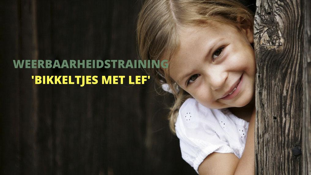 Weerbaarheidstraining voor jongens en meisje van 4 tot 8 jaar Bikkeltraining mentale weerbaarheidstraining voor meer zelfvertrouwen