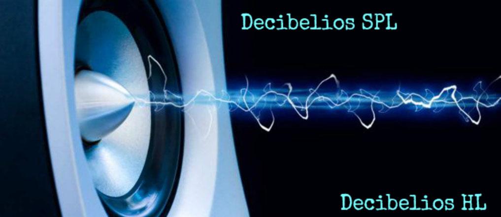 Las escalas decibélicas. Audiometría.