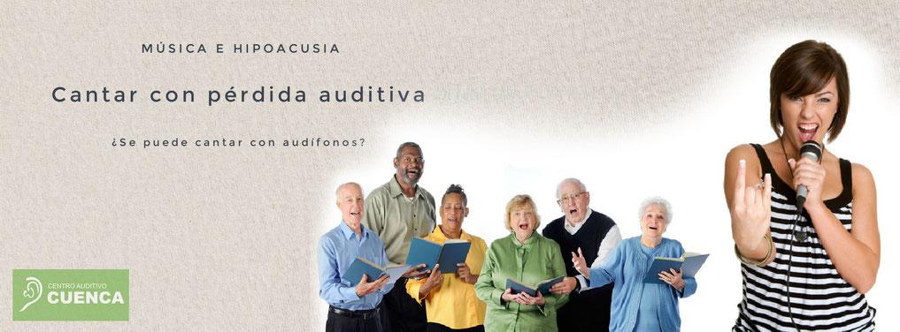 ¿Se puede cantar con pérdida auditiva? Sí, se puede cantar con audífonos, y muy bien.  Solo tienes que practicar y acostumbrarte a ellos.