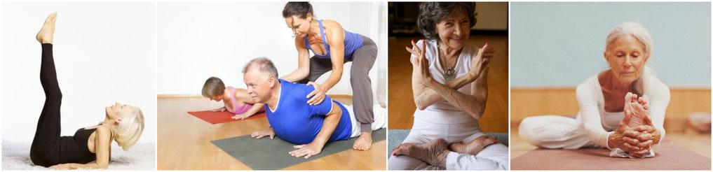 Si ellas pueden ser monitoras de yoga con más de 60 años, tú también puedes practicarlo.