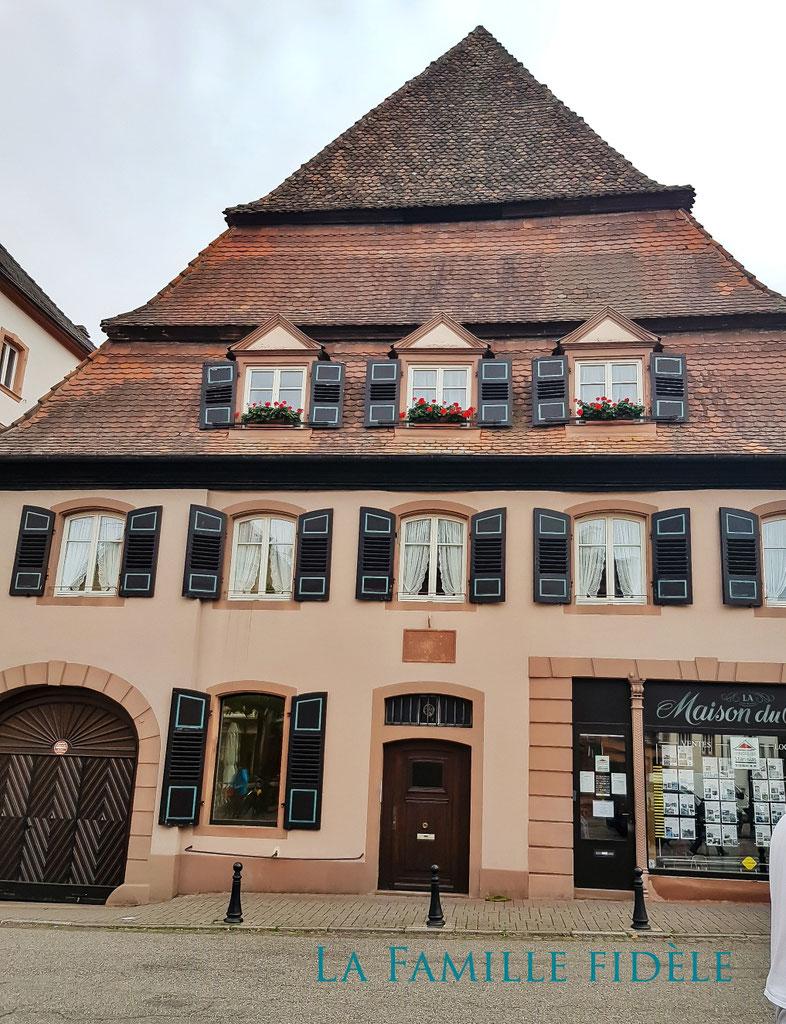 Das Salzhaus - Maison du Sel