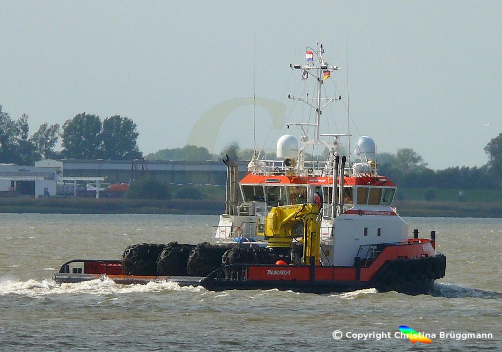 Ankerzieh Schlepper, Versorgungsschiff BARNEY