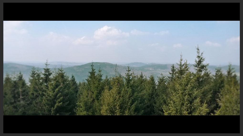 Fernsichten vom Dommelturm zum träumen