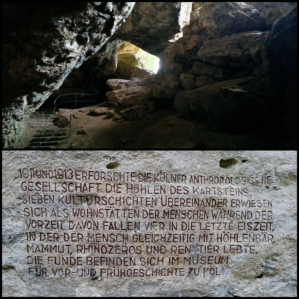 In der Kakushöhle spüren wir den Hauch der Menschheitsgeschichte