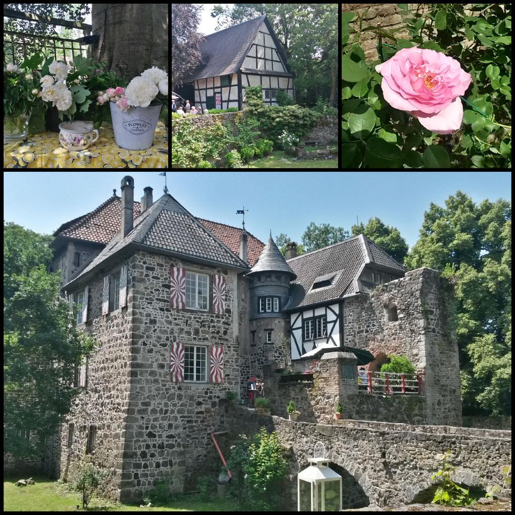 Die Burg Lede im Ortsteil Bonn-Vilich, Privatbesitz