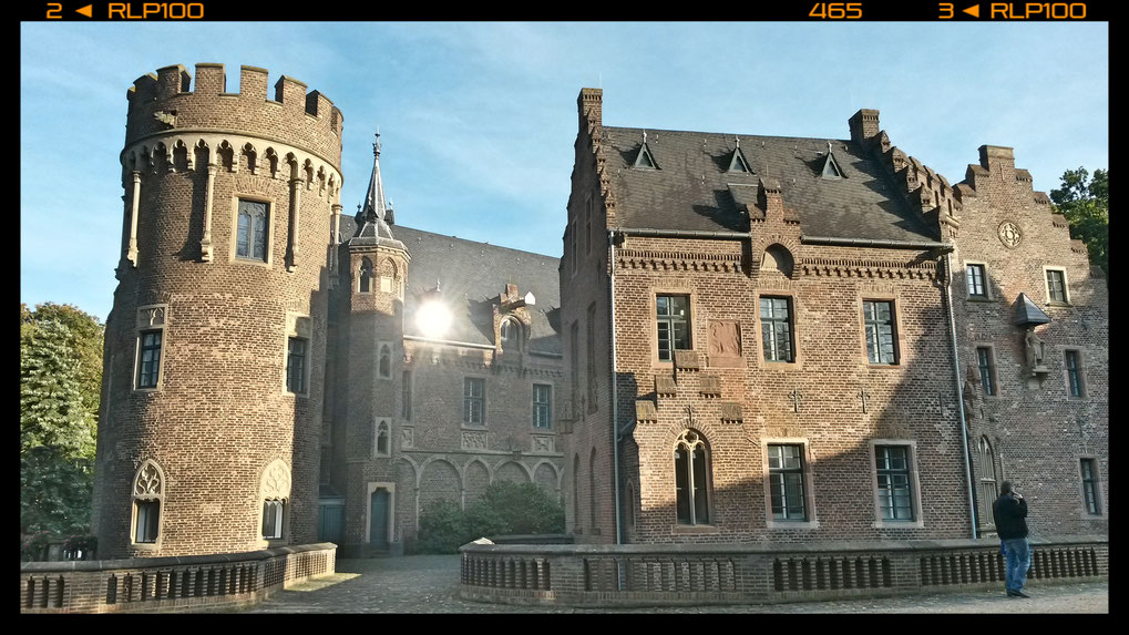 Teilansicht von Schloss Paffendorf