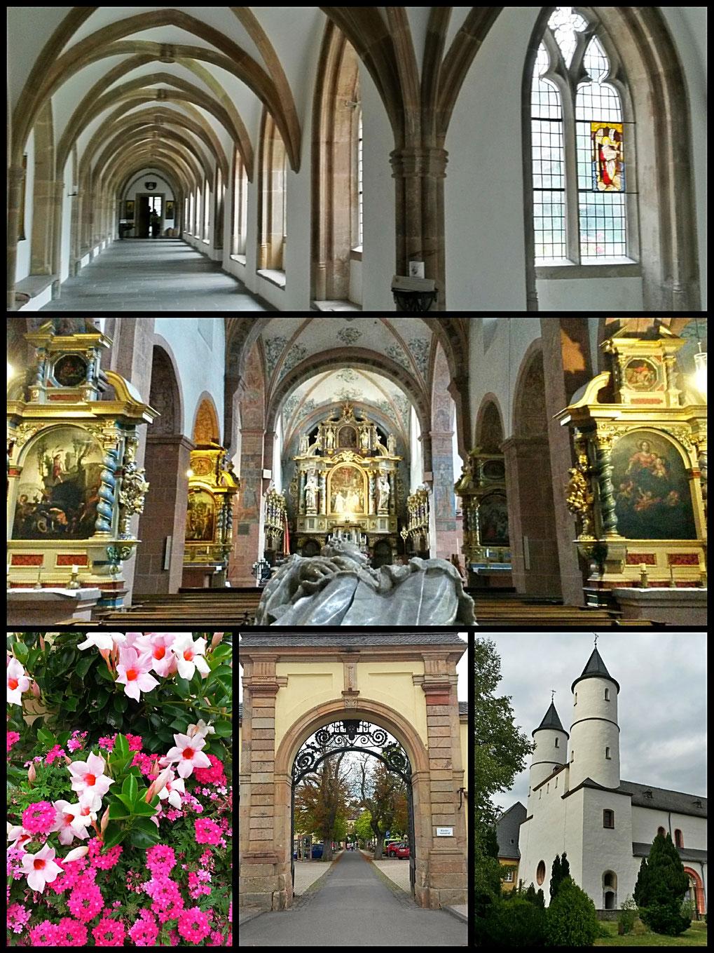 Impressionen vom Kloster Steinfeld-dem sogenannten Eifeldom