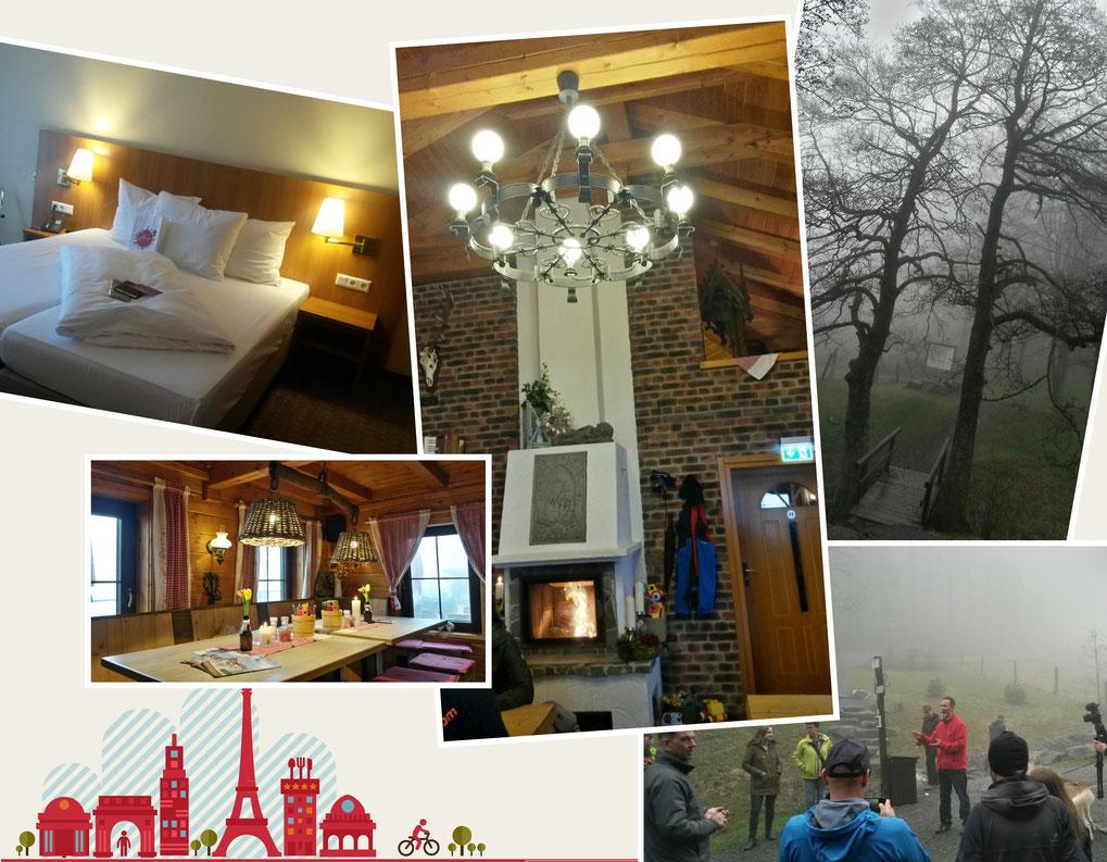 Hüttenzauber auf der Graf Stolberg Hütte, Besuch der Diemelquelle und Unterkunft im H+ Hotel