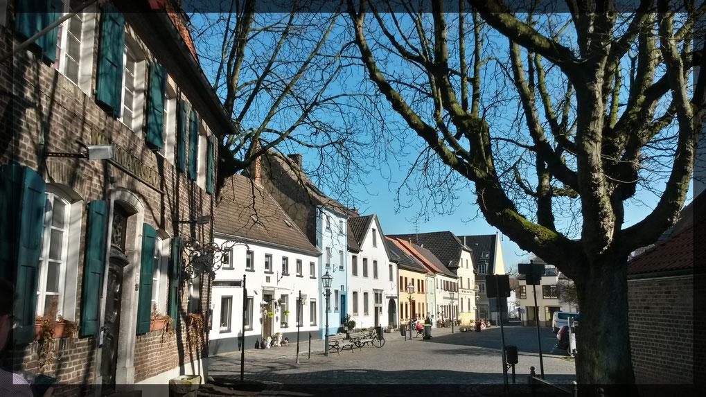 Linner Altstadt zwischen Burg und Textilmuseum