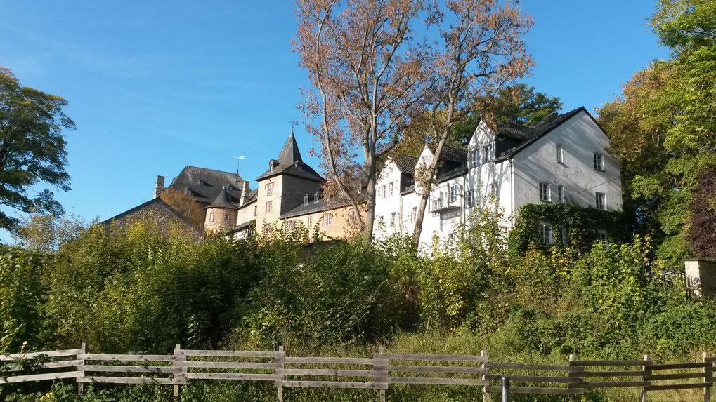 Jugendherberge Blankenheim in der Burg, Zielort meiner ersten Story für den DJH und meine persönlichste Zeitreise
