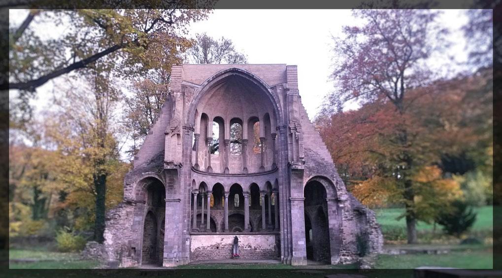 """Klosterruine Heisterbach- ein romantischer Ort für ein """"Ja""""-Wort unter freiem Himmel"""