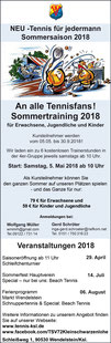 Sommertraining 2018