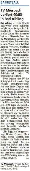 Bericht im Miesbacher Merkur am 17.10.2018 - Zum Vergrößern klicken