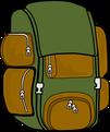 Ein Rucksack ist gut fürs Wandern.