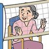 介護 福祉 レクリエーション 脳トレ イラスト 老人 高齢者