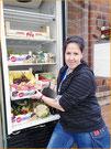 Geben und Nehmen für Alle: Ein Fair-Teiler für den Lebensmittel-Tausch steht jetzt auch vor dem MACHmit!-Museum.
