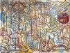 Nils Inne, lignes enchevetrées, coulures de peinture, Biarritz, peintre biarritz, peintre anglet, skate board, street art biarritz