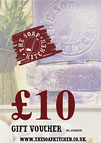 Gift vouchers from The Soap Kitchen
