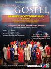 Le Choeur Gospel de Paris en concert pour Haïti à Louvres