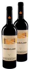 2x The Vine in Flames Merlot 2015