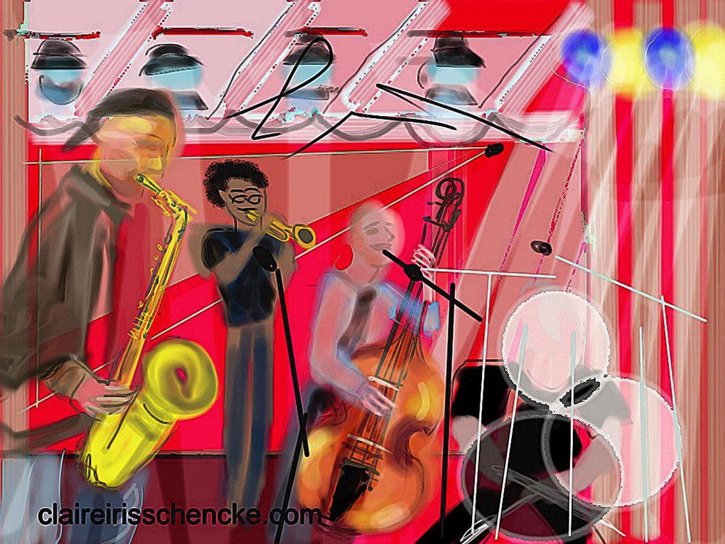 iPadJAZZart: Steve Coleman and Five Elements, Garden  Stage, Monterey Jazz Festival 2012