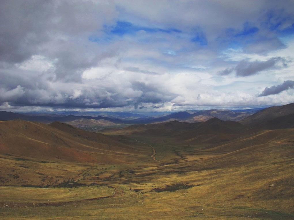 bigousteppes mongolie steppes route ciel