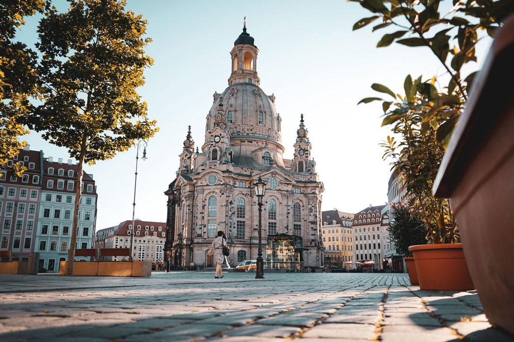 Neumarkt mit Frauenkirche, Foto: Michael R. Hennig