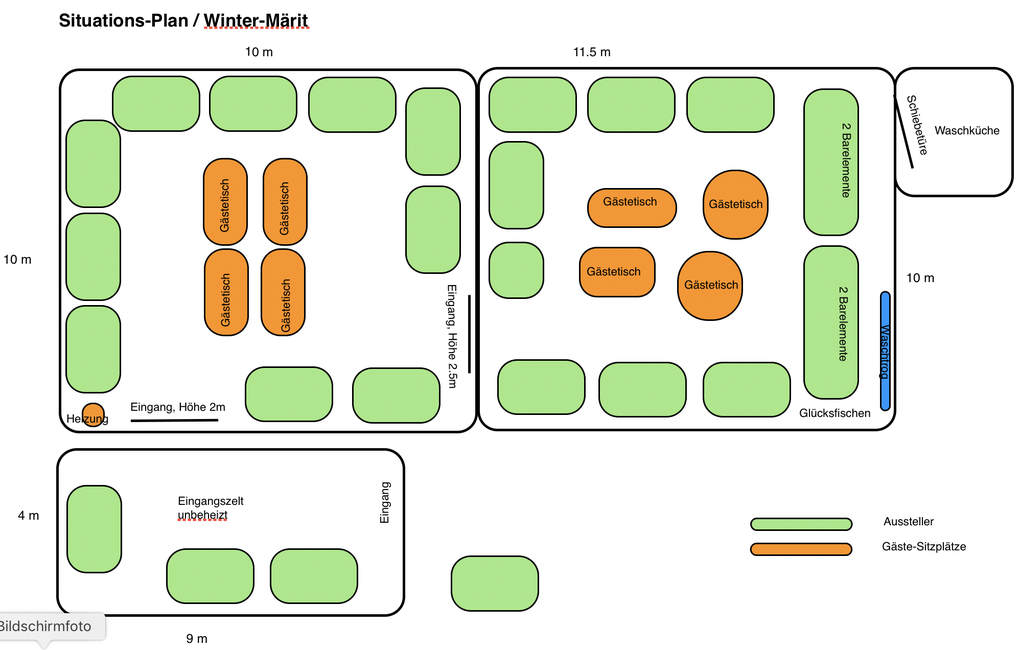 Winter-Märit Mülchi - Situationsplan