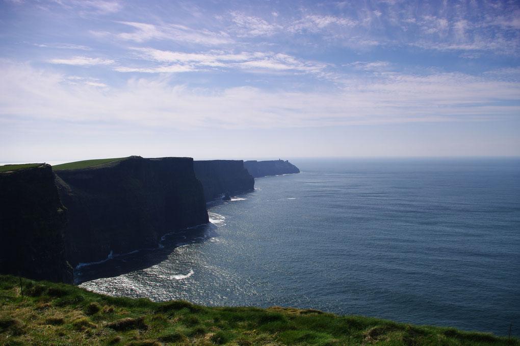 Les falaise de Cliff of Moher en Irlande