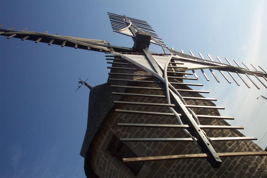 Vieux moulin de Batz sur Mer