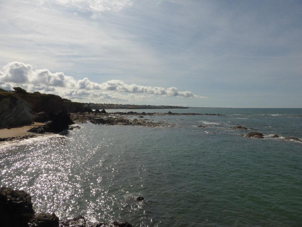 Plage de Brétignoles sur Mer