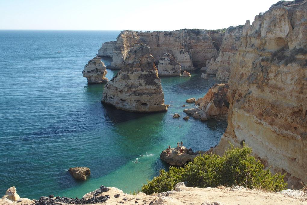 La région sud du Portugal en août