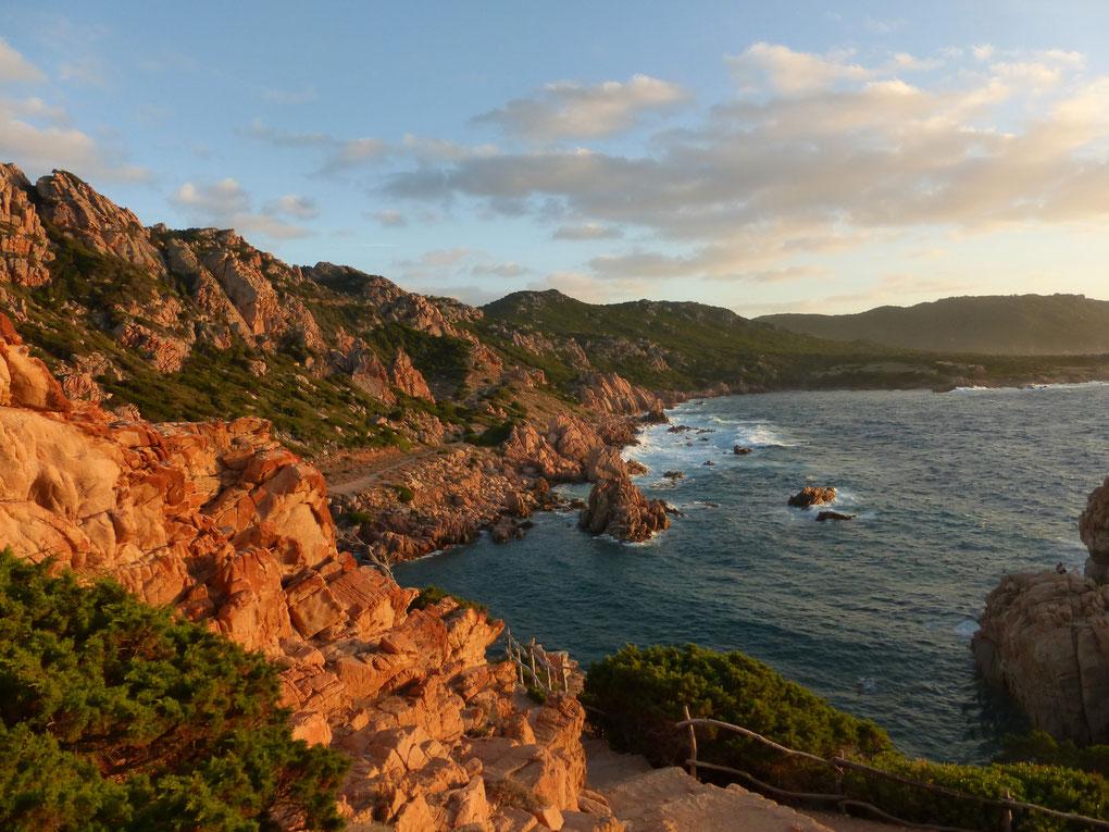 La Costa Paradiso et ses splendides blocs de granit en Sardaigne