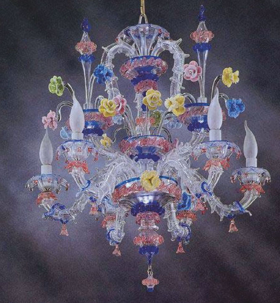 FLOWERS-CHIC-carezzonico-monumentale-lampadario-murano