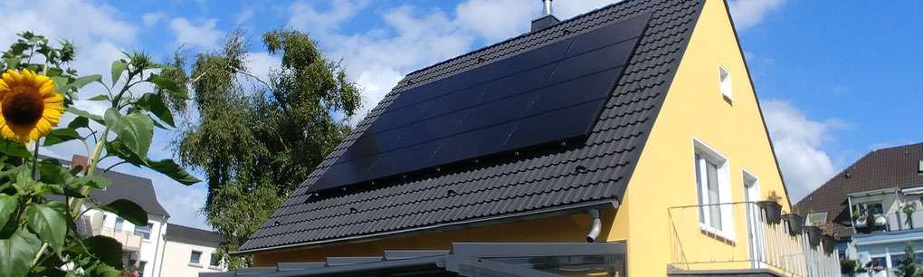 Hausdach mit Photovoltaik ist wieder eine Investition wert!