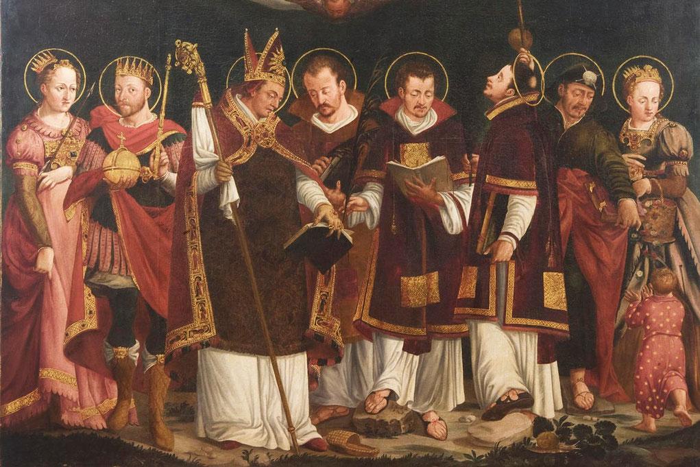 Connessioni Culturali: Iconografia santi