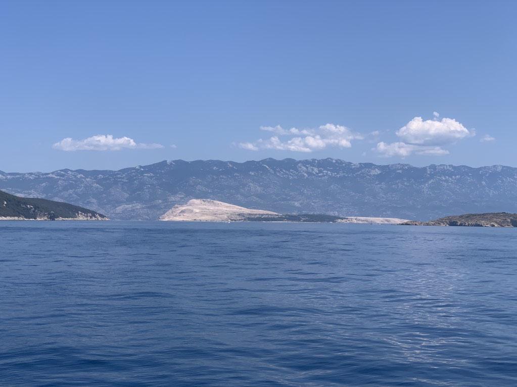 Kroatien, Segeln, Badestopp, Bucht, Goli, Gefängnisinsel, Tito
