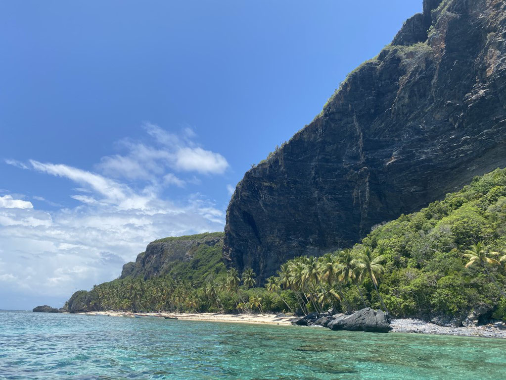 Samana, Las Galeras, Playa Fronton, Bootstour, einsamer Strand