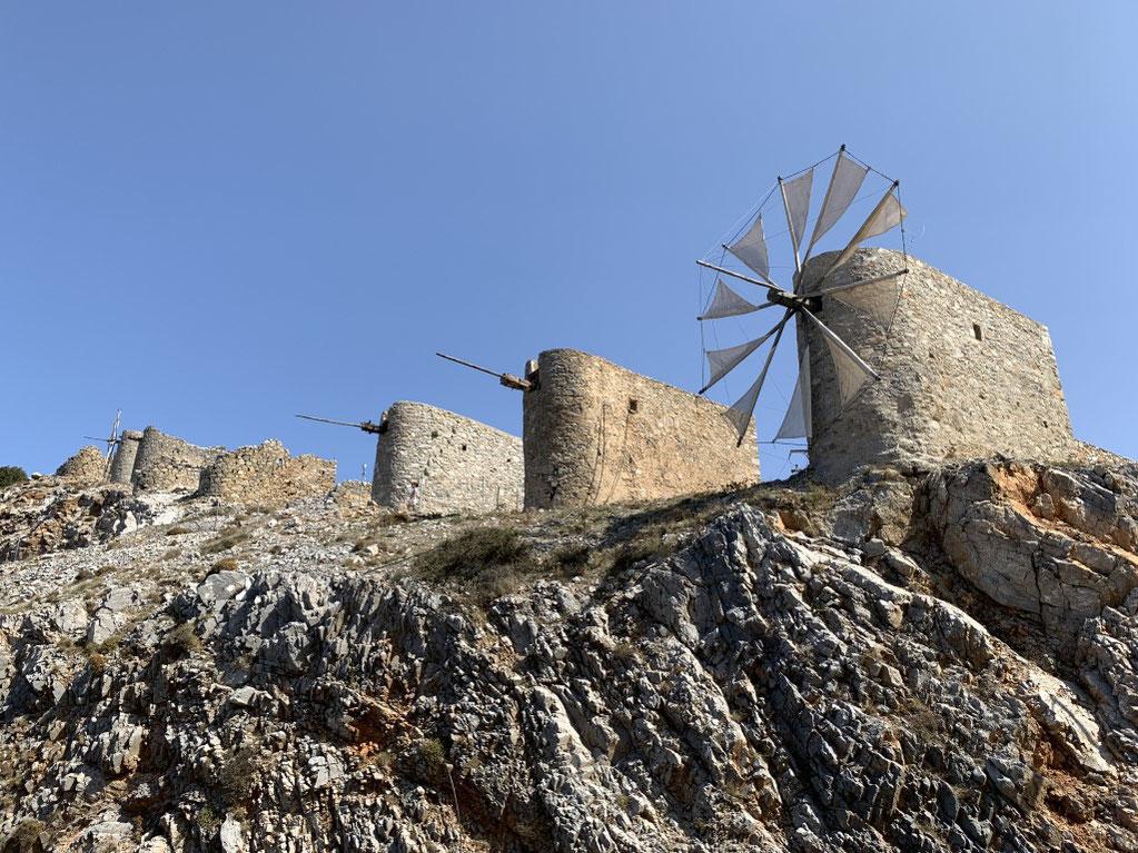 Griechenland, Kreta, Sehenswürdigkeit, Reisebericht, highlight, Urlaub, Ambelos, Pass, Windmühle