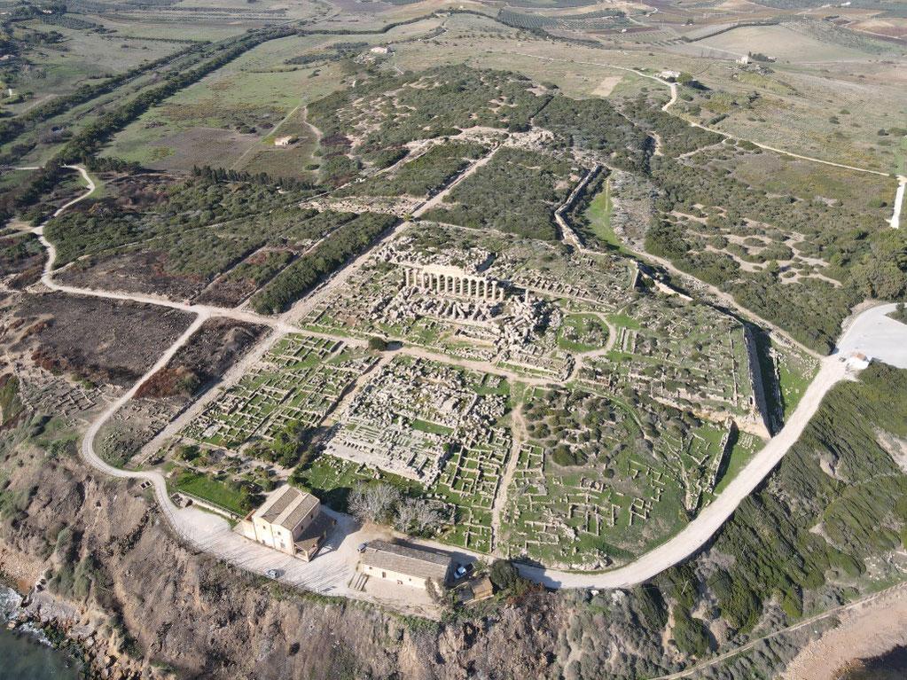 Italien, Sizilien, Sehenswürdigkeit, Selinunt, Selinunte, Tempel C