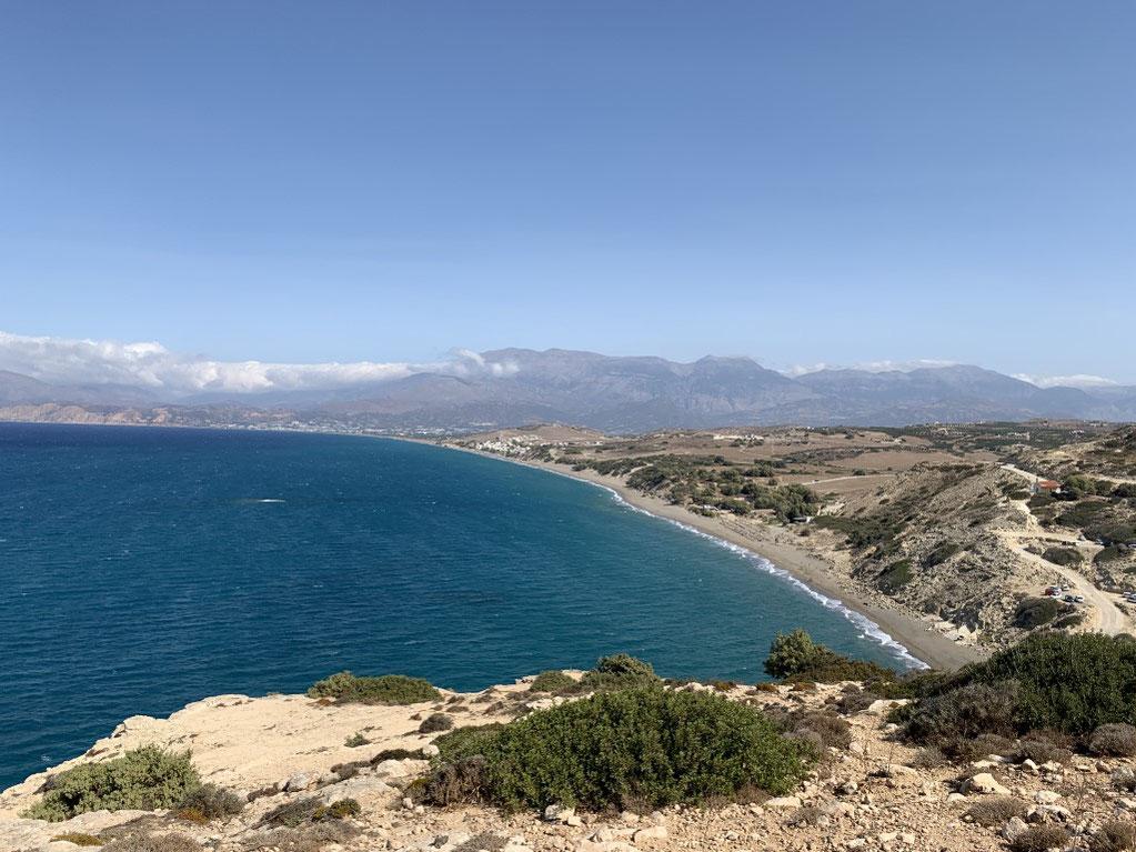 Griechenland, Kreta, Sehenswürdigkeit, Reisebericht, highlight, Urlaub, Matala, Strand, Kommos