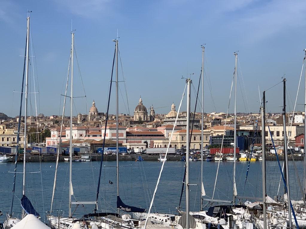 Italien, Sizilien, Yacht, Marina, Catania, Sehenswürdigkeit