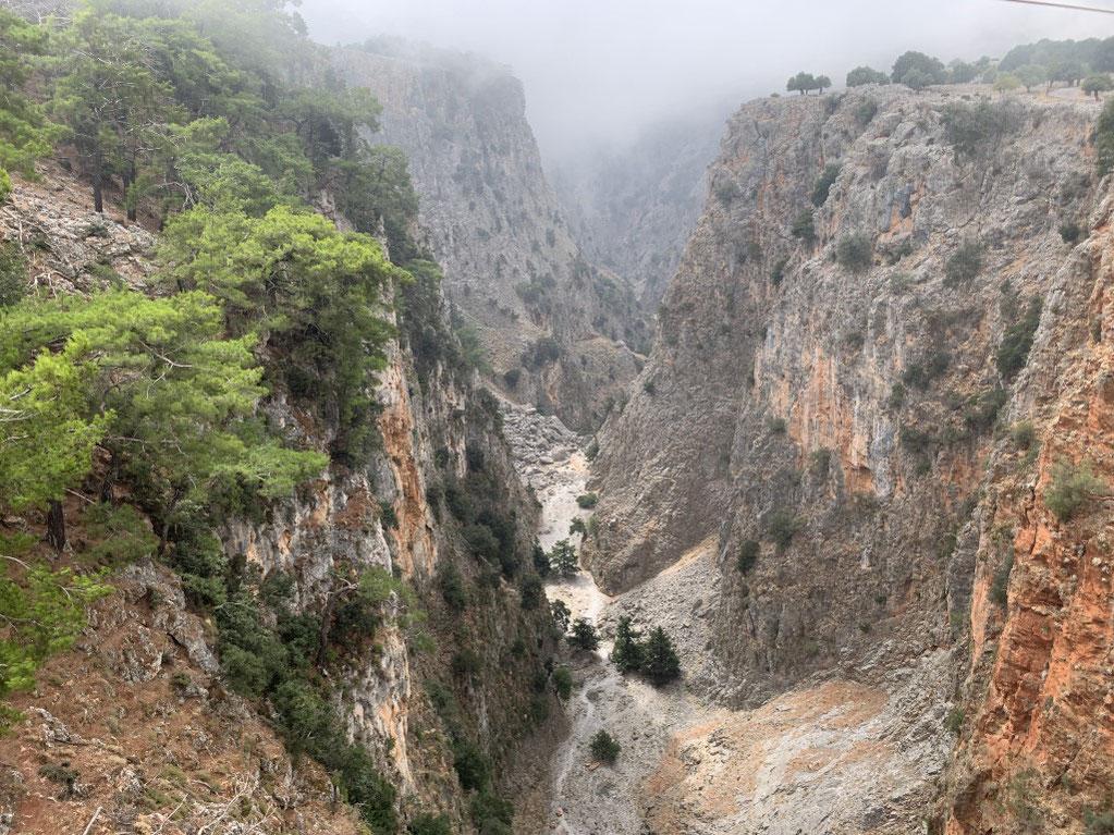 Griechenland, Kreta, Sehenswürdigkeit, Reisebericht, highlight, Urlaub, Sfakion, Aradena, Schlucht, Wandern, Brücke