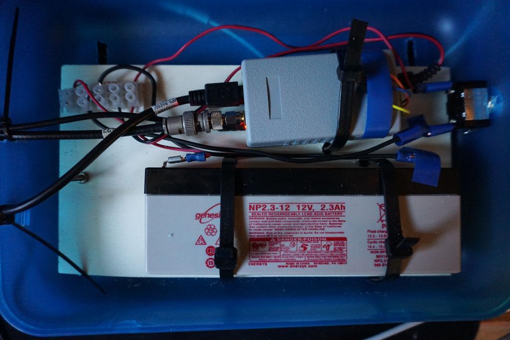 HB9DNU APRS Tracker