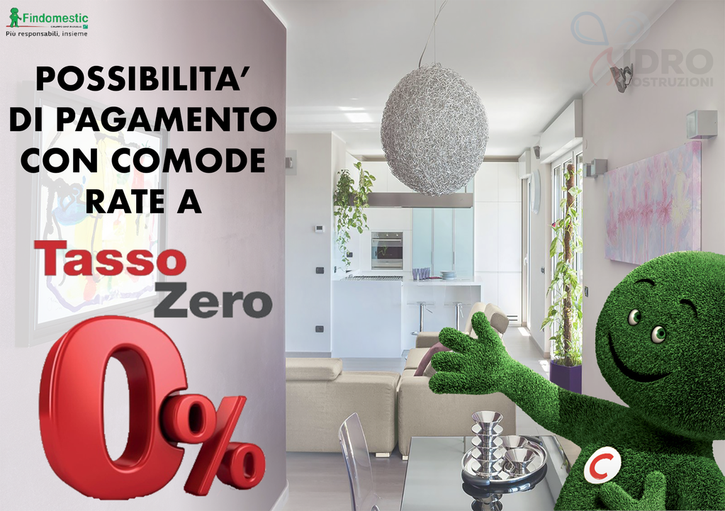 Finanziamento a tasso zero findomestic a torino per l'acquisto della caldaia immergas victrix 32 tt